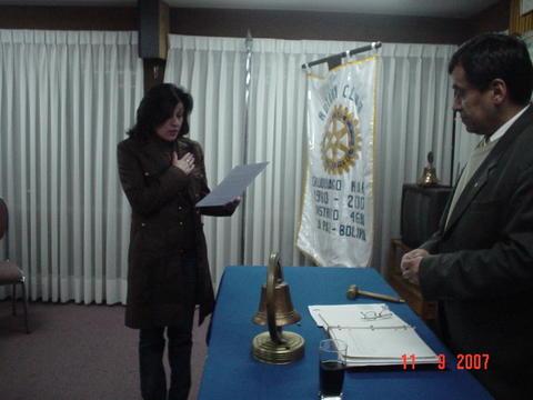 (11-sep-09) Nancy de Krenz - Secretaria Ejecutiva
