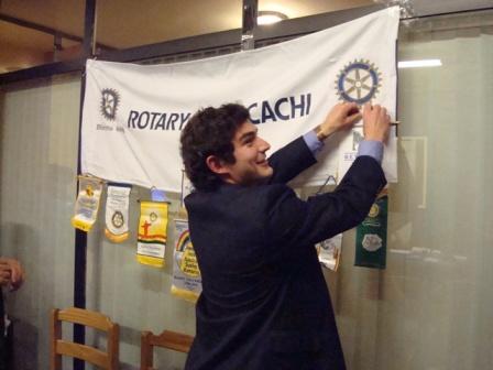 Becario de La Fundación Rotaria