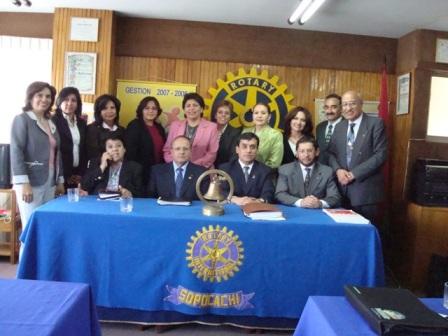 Visita Gobernador a RC La Paz-Sopocachi