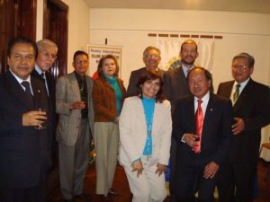 Presidentes electos invitados