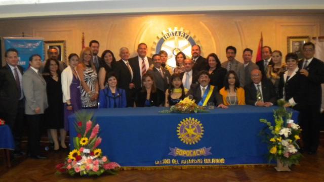 Todos los socios de Rotary Club La Paz-Sopocachi