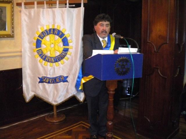 Mensaje del Presidente Ariel Mariaca