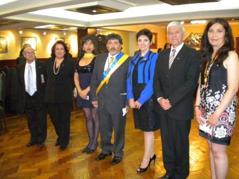 Incorporación de socios nuevos: Juan Carlos De la Riva, Mirta Mariaca, Mónica Rojas, Eliana Montes de Oca y Rafael Paz.