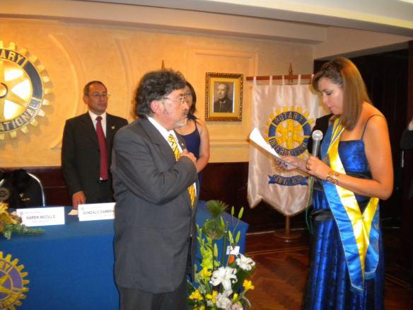 Posesión del nuevo Presidente Ariel Mariaca Mendieta