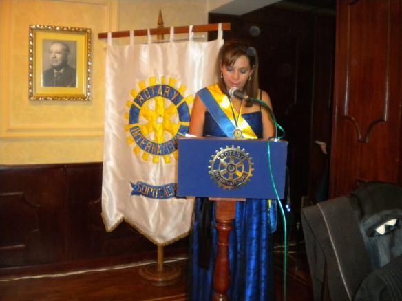 Informe de la presidente saliente Karen Nicolls Navia y entrega de reconocimientos