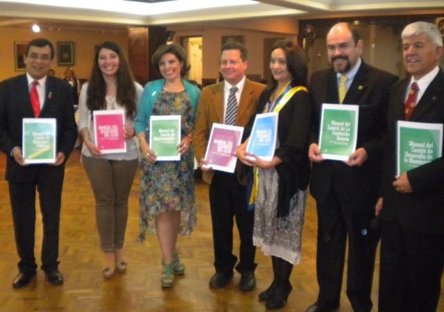 Pedro Loza, Cecilia Uriona, Eliana Montes de Oca Oscar Caceres, Paola Mendoza, Freddy Mercado, Rafael Paz