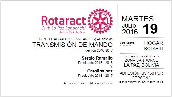 Invit Rotaract